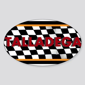 Talladega Alabama License Plate Sticker
